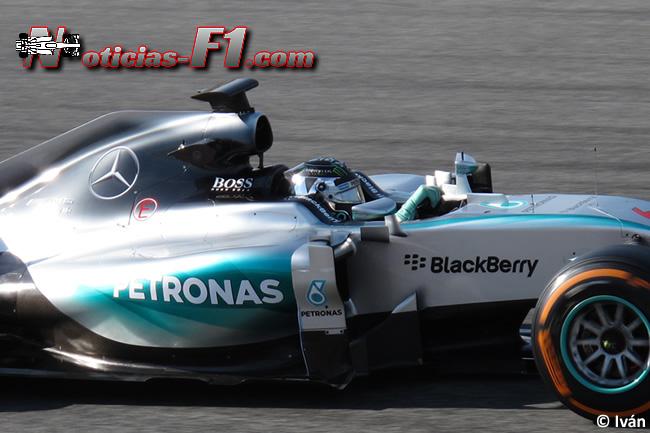Nico Rosberg - Mercedes - F1 W06 - 2015 - www.noticias-f1.com