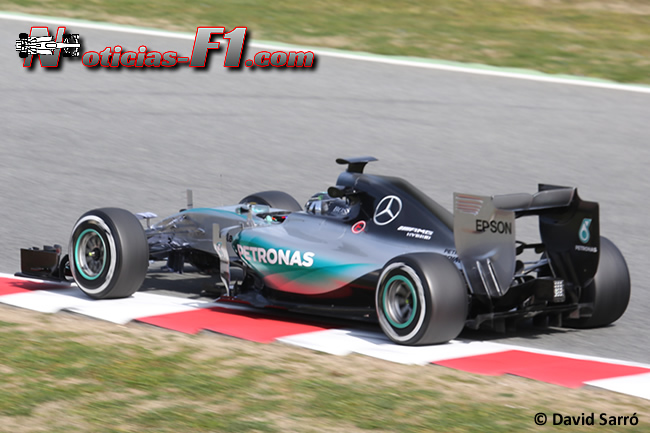 Nico Rosberg - Mercedes - F1 W06 - 2015 - David Sarró - www.noticias-f1.com