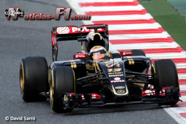 Pastor Maldonado - Lotus - E23 - David Sarró - www.noticias-f1.com