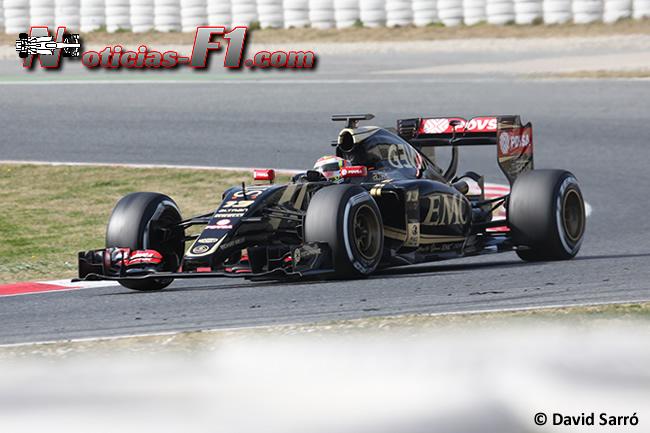 Pastor Maldonado - Lotus - E23 - 2015 - David Sarró