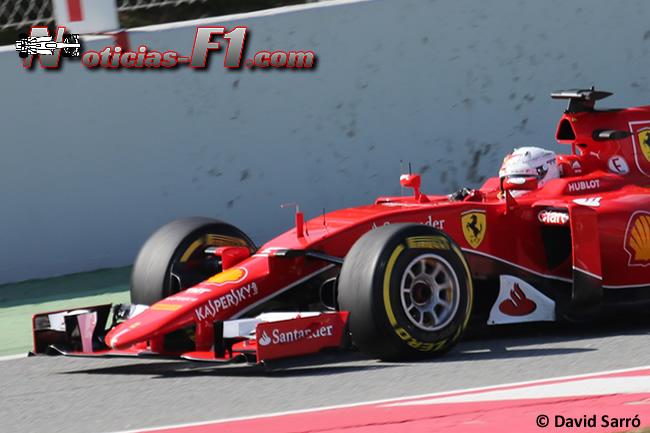 Sebastian Vettel - Scuderia Ferrari - 2015 - SF15-T - David Sarró - www.noticias-f1.com
