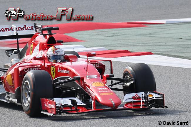 Sebastian Vettel - Scuderia Ferrari - SF15-T - 2015 - David Sarró - www.noticias-f1.com