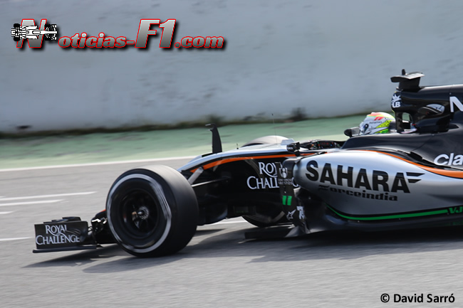 Sergio Pérez Force India - VJM08 - David Sarró - www.noticias-f1.com