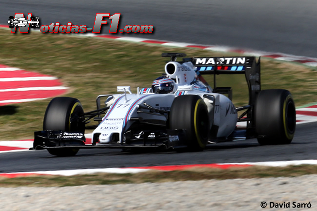 Valtteri Bottas - Williams - FW37 - David Sarró - www.noticias-f1.com