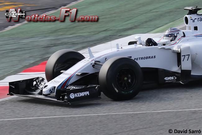 Valtteri Bottas - Williams - David Sarró - FW37 - www.noticias-f1.com