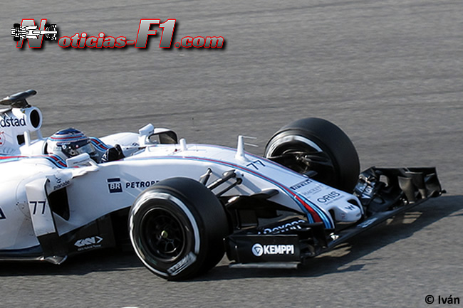 Valtteri Bottas - Williams - FW37 - 2015 - www.noticias-f1.com
