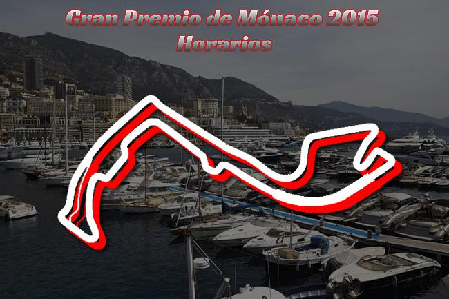 Horarios Gran Premio de Mónaco 2015