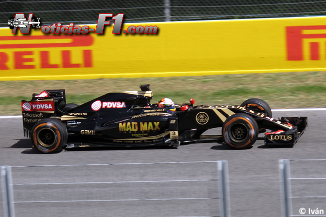 Romain Grosjean - Lotus - www.noticias-f1.com