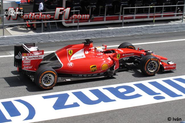 Sebastian Vettel - Scuderia Ferrari - 2015 - www.noticias-f1.com