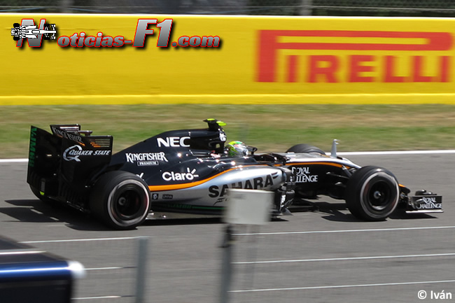 Sergio Pérez - Force India - 2015 - www.mnoticias-f1.com