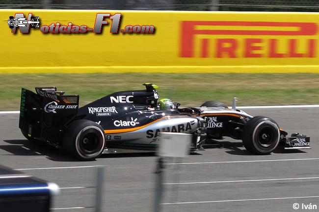 Sergio Pérez - Force India - 2015 - www.mnoticias-f1.com