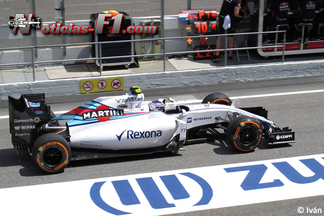 Valtteri Bottas - Williams - 2015 - www.noticias-f1.com