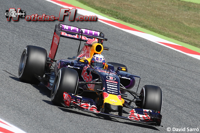 Daniel Ricciardo - Red Bull Racing 2015 - David Sarró - www.noticias-f1.com