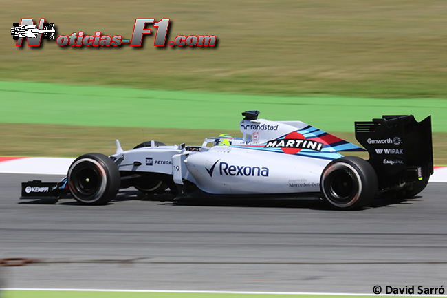 Felipe Massa - Williams 2015 - David Sarró - www.noticias-f1.com