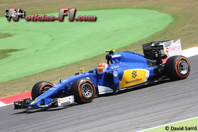 Felipe Nasr - Sauber 2015 - David Sarró - www.noticias-f1.com