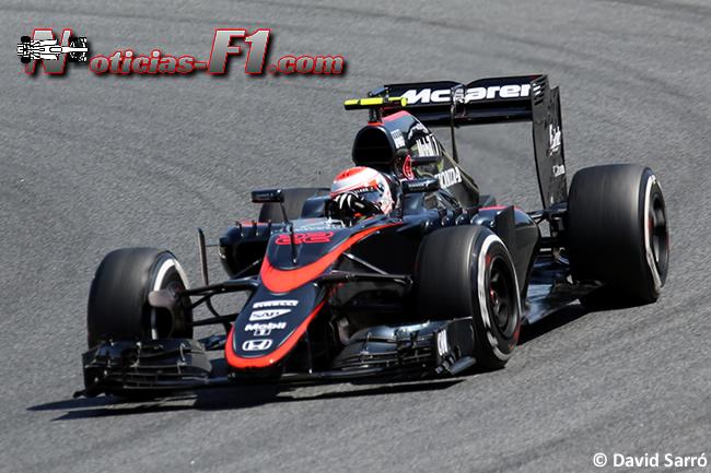 Jenson Button  - McLaren 2015 - David Sarró  - www.noticias-f1.com