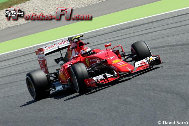 Kimi Raikkonen - Scuderia Ferrari - 2015 - David Sarró - www.noticias-f1.com