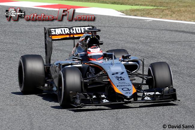 Nico Hulkenberg - Force India 2015 - David Sarró - www.noticias-f1.com