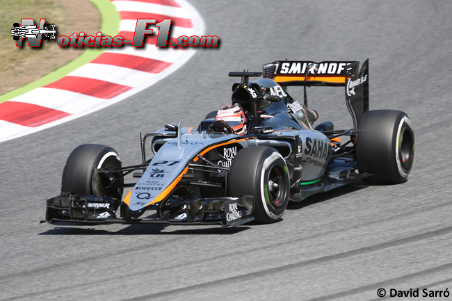 Nico Hulkenberg - Force India 2015 - David Sarró - ww.noticas-f1.com