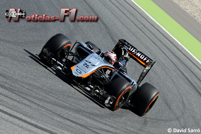 Nico Hulkenberg - Force India 2015 - David Sarró - www.noticias-f1.com