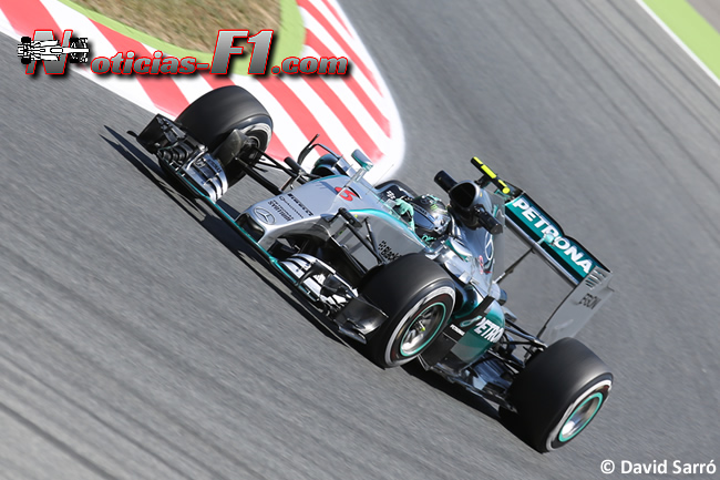 Nico Rosberg - Mercedes 2015 - David Sarró - www.noticias-f1.com