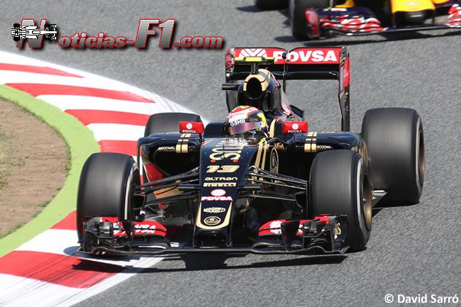 Pastor Maldonado - Lotus 2015 - David Sarró - www.noticias-f1.com