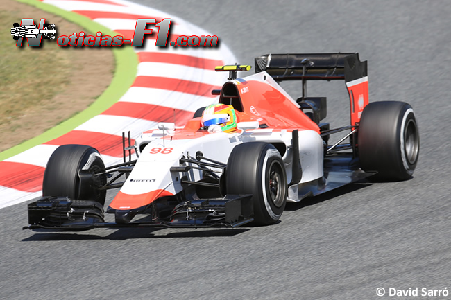 Roberto Merhi - Manor 2015 - David Sarró - www.noticias-f1.com