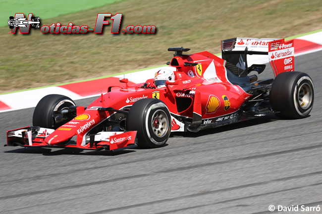 Sebastian Vettel - Scuderia Ferrari 2015 - David Sarró - www.noticias-f1.com