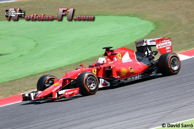 Sebastian Vettel - Scuderia Ferrari - 2015 - David Sarró - www.noticias-f1.com