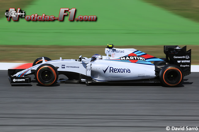 Valtteri Bottas - Williams 2015 - David Sarró - www.noticias-f1.com