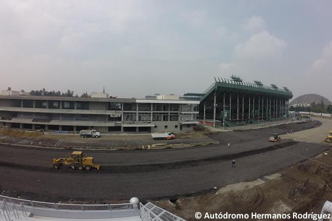 La fia se muestra satisfecha por el trabajo en el circuito for Puerta 2 autodromo hermanos rodriguez
