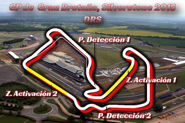 Gran Premio Gran Bretaña 2015  - DRS