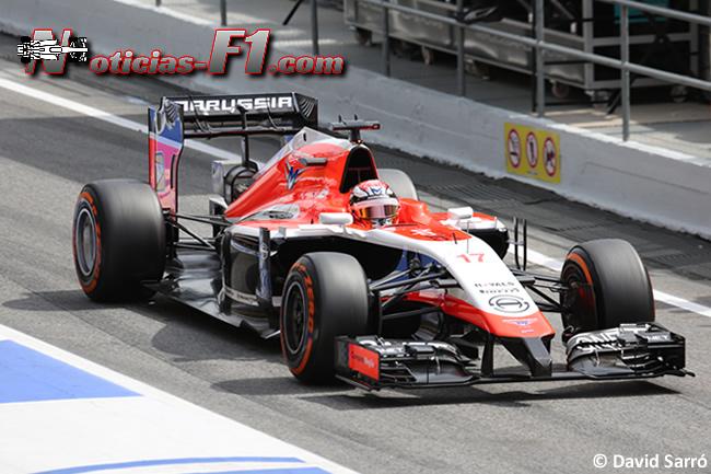 Jules Bianchi - Marussia 2014 - David Sarró - www.noticias-f1.com