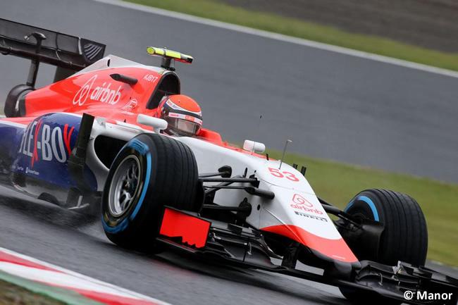 Alexander Rossi - Manor - Gran Premio Japón 2015