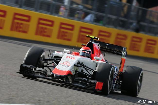 Alexander Rossi - Manor - Gran Premio de Japón 2015