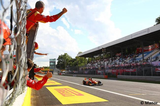 Alexander Rossi - Manor -GP2