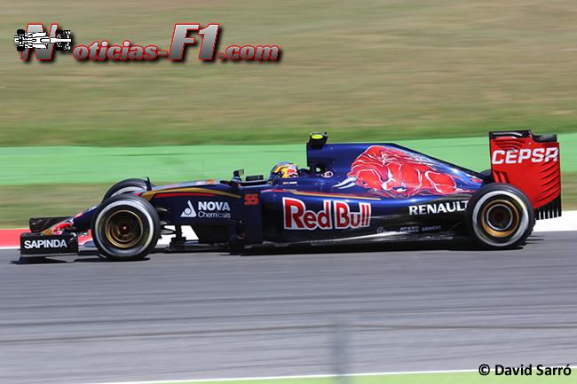 Carlos Sainz - Scuderia Toro Rosso - David Sarró - www.noticias-f1.com