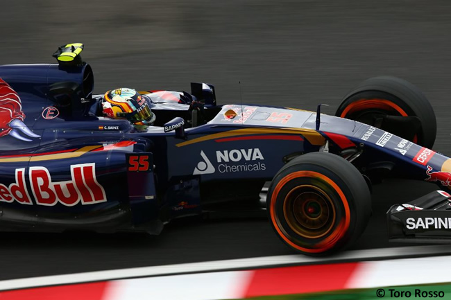 Carlos Sainz - Toro Rosso - Gran Premio de Japón 2015