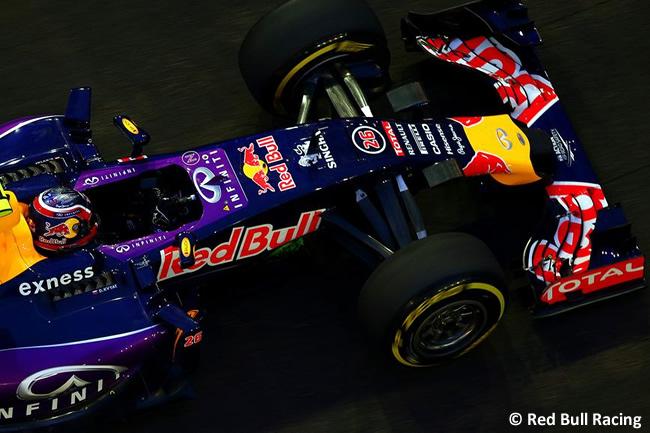 Daniil Kvyat - Red Bull Racing - Singapur 2015
