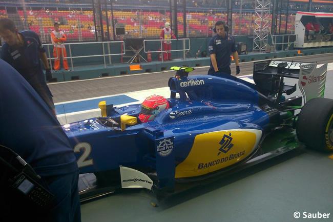 Felipe Nasr - Sauber - Singapur 2015