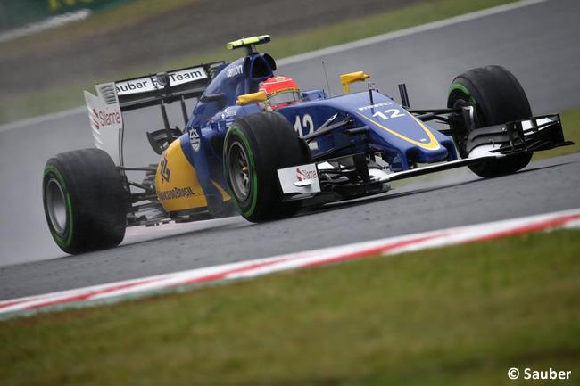 Felipe Nasr - Sauber - Gran Premio de Japón 2015