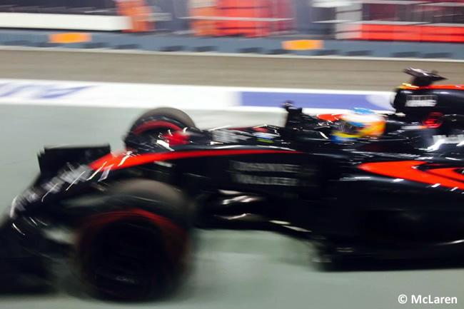 Fernando Alonso - McLaren - Singapur 2015