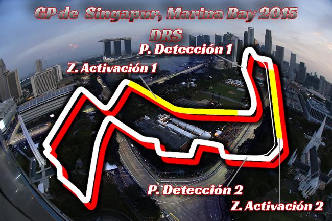 Gran Premio de Singapur 2015 - DRS
