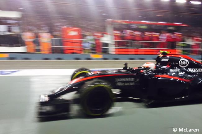 Jenson Button - McLaren - Singapur 2015