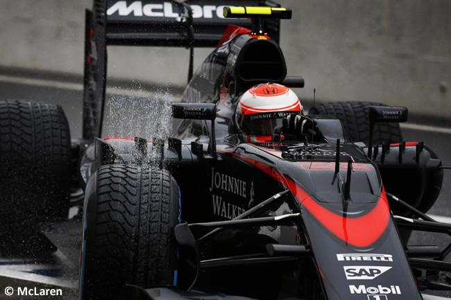 Jenson Button - McLaren - Honda - Gran Premio Japón 2015