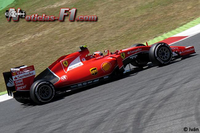 Kimi Raikkonen - Scuderia Ferrari 2015 - www.noticias-f1.com