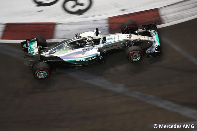 Lewis Hamilton - Mercedes - Singapur 2015
