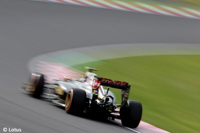 Lotus - Gran Premio de Japón 2015