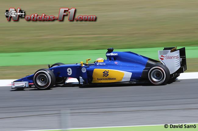 Marcus Ericsson - Sauber 2015 - David Sarró - www,noticias-f1.com