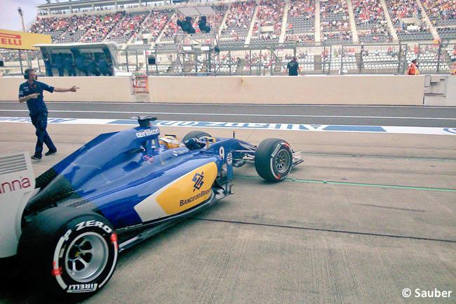 Marcus Ericsson - Sauber - Gran Premio de Japón 2015